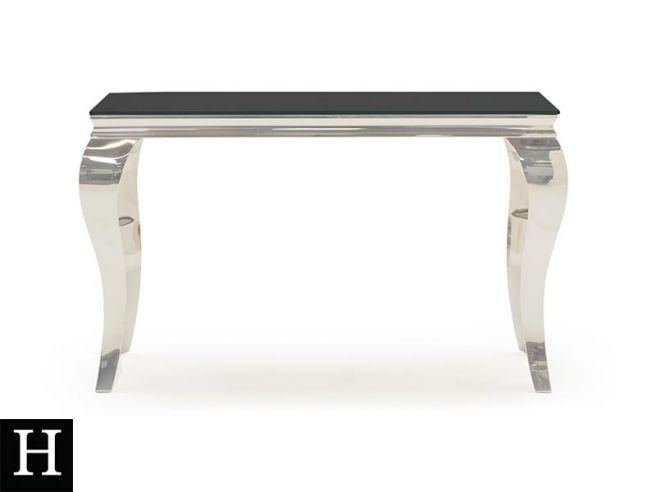 Peachy The Louis Console Table Black Download Free Architecture Designs Scobabritishbridgeorg
