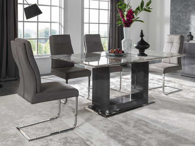 Donatella 1 6 Dining Table Chairs